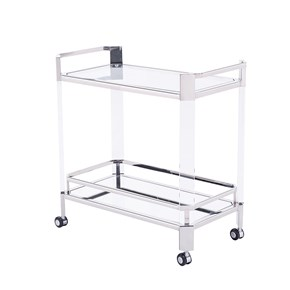 Newport Bar Trolley, Silver