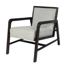Coronado Armchair, Pepper/Chocolate